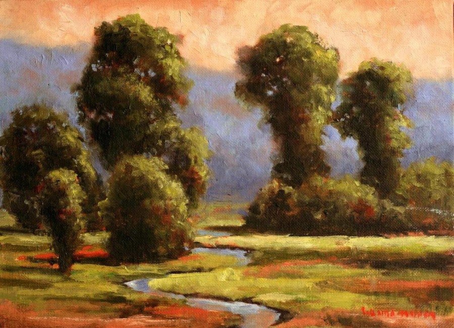 http://www.wandamumm.com/wp-content/uploads/2016/08/Sunrise-on-Sinclair-Creek-8-x-10-Original-Oil.png